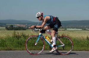 Karlheinz gut unterwegs beim Ironman in Frankfurt