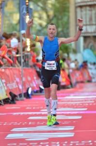Souveräne Leistung von Karlheinz beim Ironman in Frankfurt