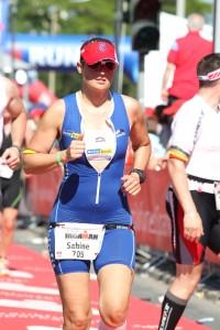 Sabine Bremicker beim Ironman